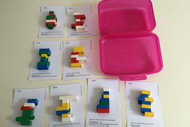 DIY Lego-Box für die Reise