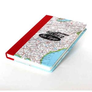 Upcycling, Reisekarten werden zu euren neuen Reisetagebüchern
