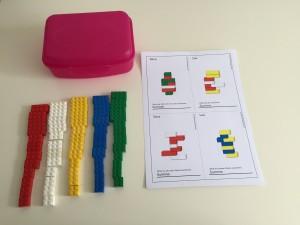 Was braucht ihr für die DIY Lego-Box?