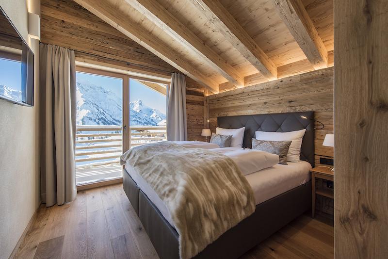 ... Ein Schlafzimmer ...