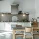Die Küchen sind top ausgestattet zum Selberkochen oder private cooking.