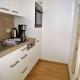 Klein und fein ist die Küche in den Feldberg-Wohnungen