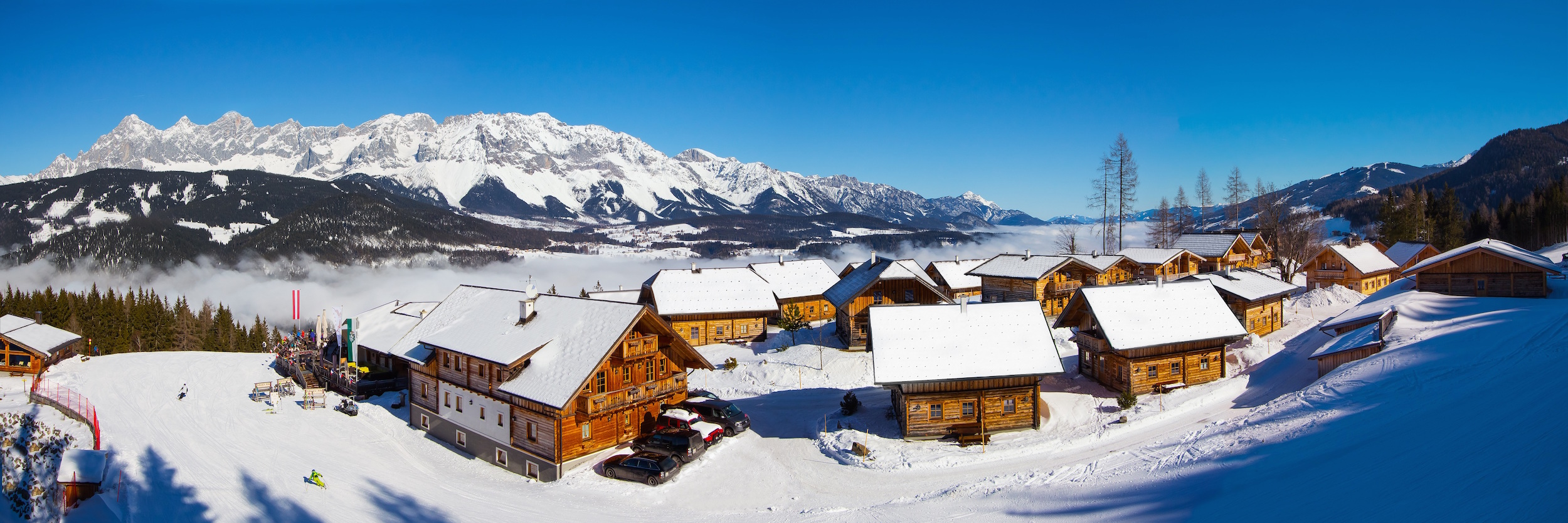 Almwelt Austria im Winter - ideal für den Almdorf-Urlaub mit Kindern