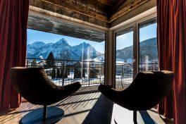 Traum-Aussicht aus einer Lodge