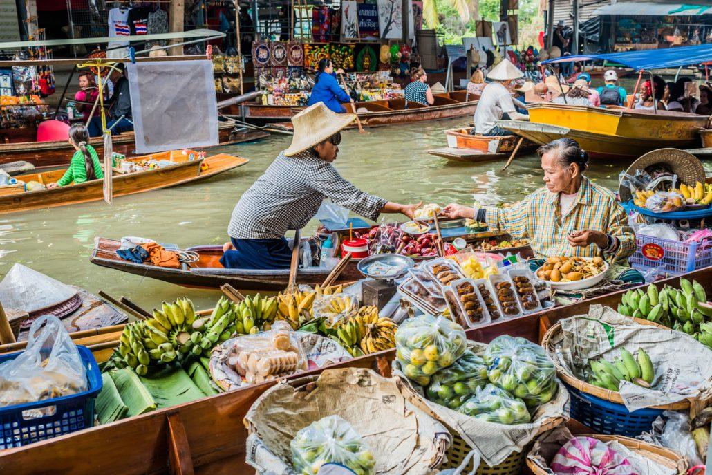 Der schwimmende Markt Amphawa in Bangkok ist auf für Kinder ein echtes Highlight!