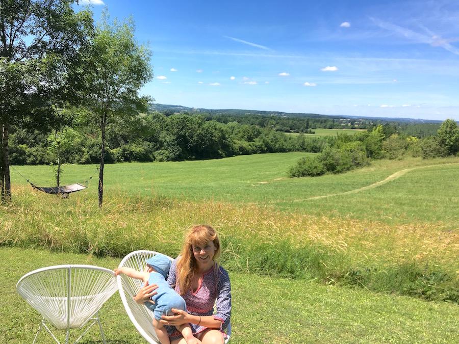 Unsere Autorin Vanessa mit einem ihrer