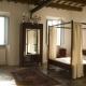 Das Schlafzimmer im Apartment Anemone