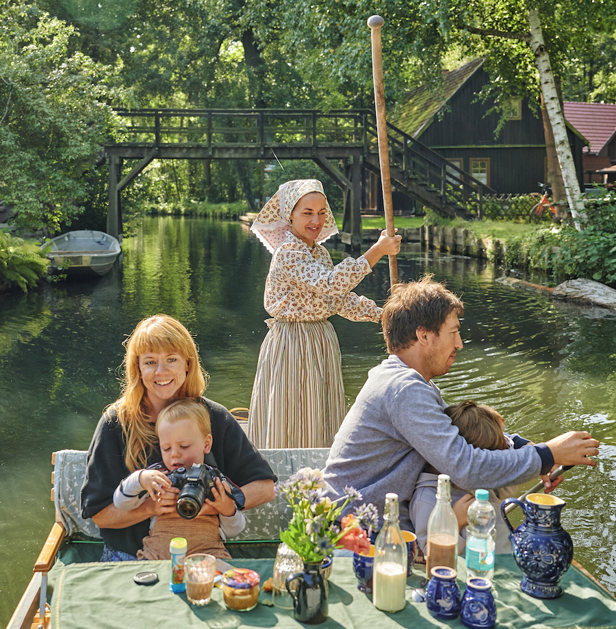 Ausflug mit Kindern in Brandenburg: der Spreewald