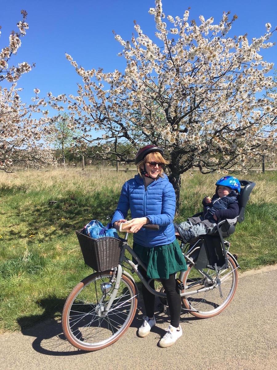 Es gibt viele Radtouren mit Kindern in Brandenburg