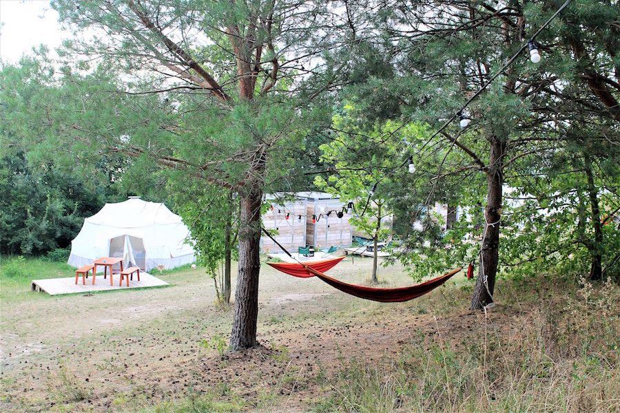 Uebernachtungstipp mit Kindern in Brandenburg: Camp Moeve