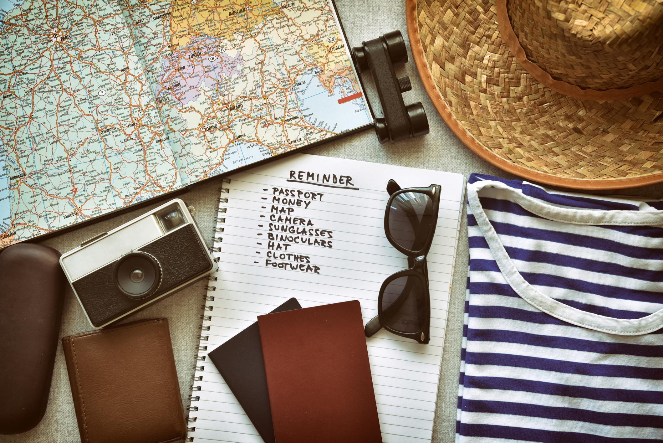 Die ultimative Checkliste für den Urlaub mit Kind - zum Ausdrucken!