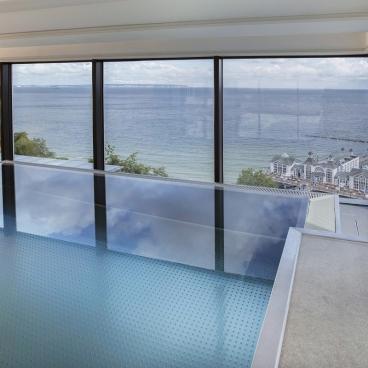 Sellin: Gemeinschafts-Pool in der Residenz First mit Ostseeblick!