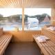 Sellin: Gemeinschafts-Sauna in der Residenz First