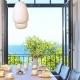 Sellin: Beim Essen in der Waterview Cloud in der Villa Philine gibt es auch Meerblick