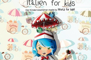 "Der Kinderrreiseführer ""Italien for kids"""