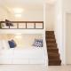 So sieht das Kinderzimmer in den neuen Deluxe Family Bungalows im Cretan Malia Park aus