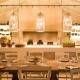 Gemütliche Abendstimmung im grieschischen Restaurant Mouries