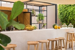 Wir lieben die Pool Bar im lässigen Boho-Design