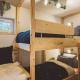 Das Kinderschlafzimmer mit Hochbett im Helena // Copyright Klaus Krumboeck