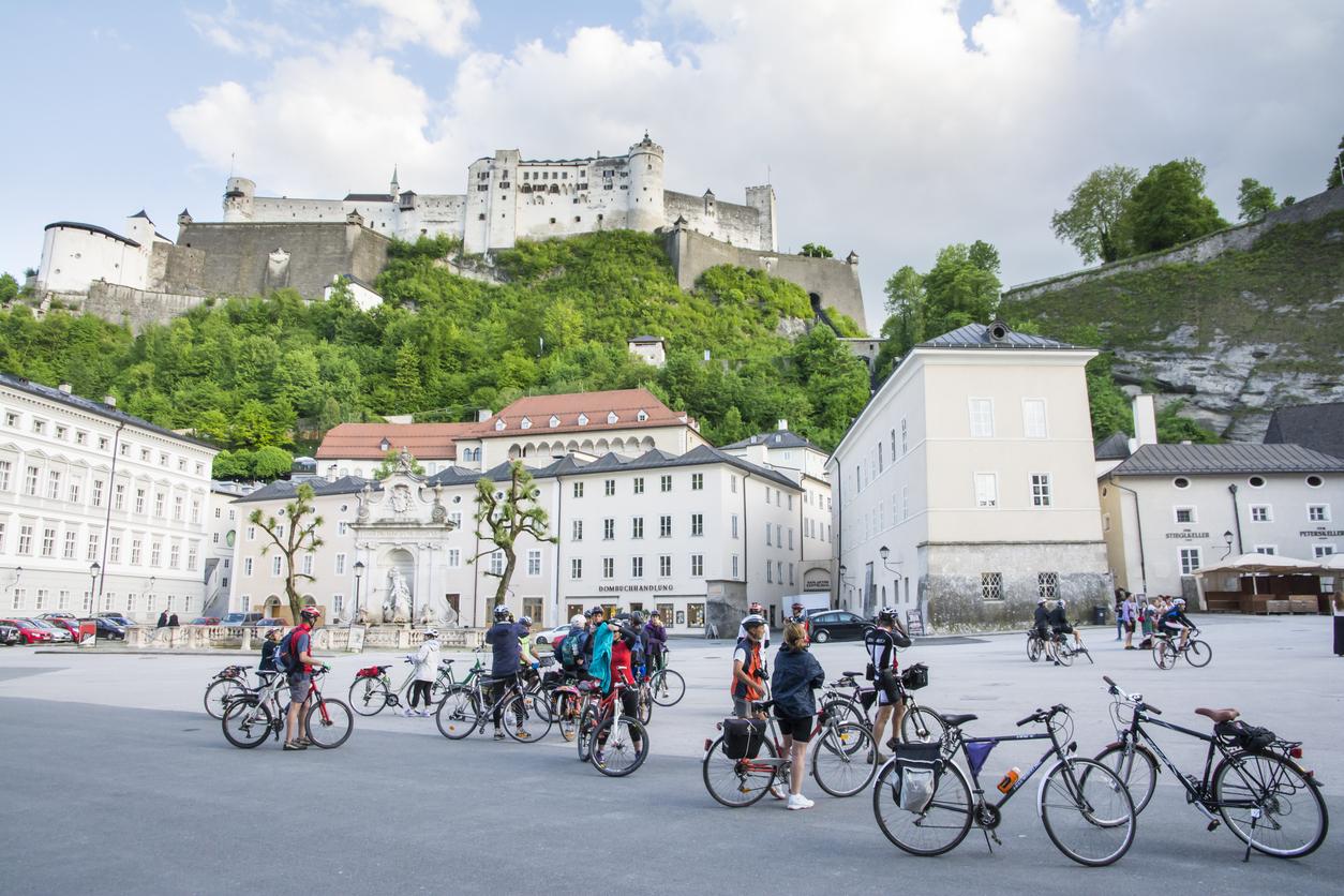 Salzburg mit Kindern - gern auf dem Fahrrad