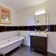 Das Badezimmer im Flamant