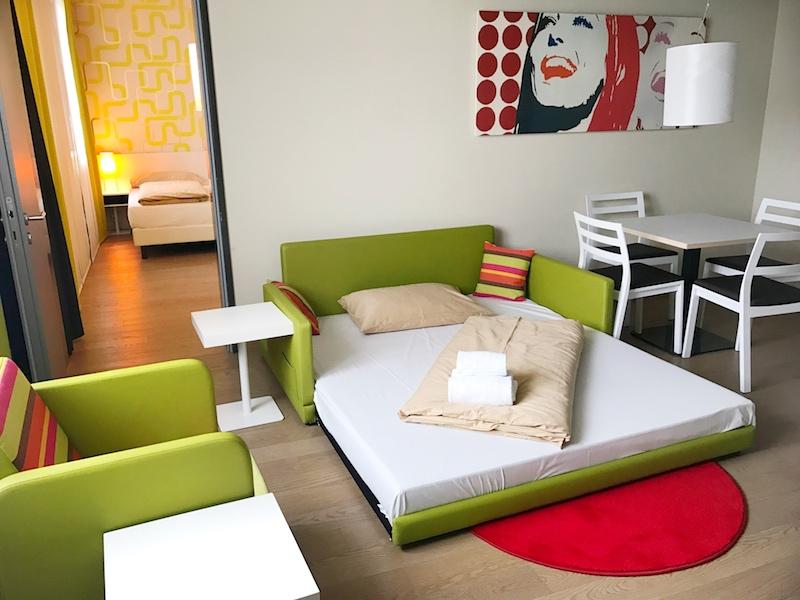 Harry's Home: Die schicken Sofas verwandeln sich zu Extra-Betten