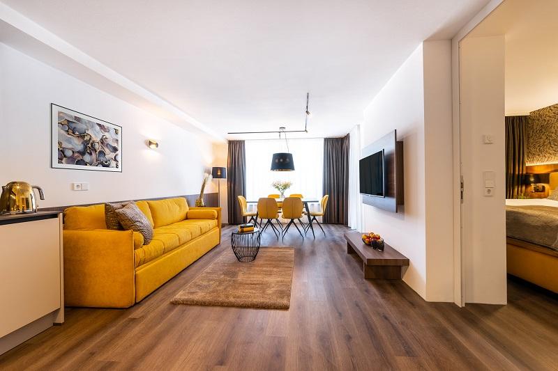 So schick sind die neuen Gerharts Premium City Living Brixen Apartments (Foto: Gerharts Premium City Living)