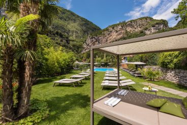 Gioiosa Hotel - der schöne Garten
