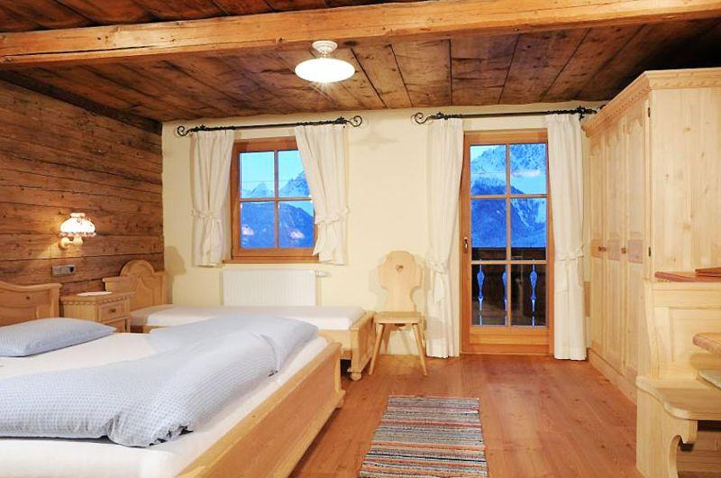 Ein weiteres Schlafzimmer im Glinzhof