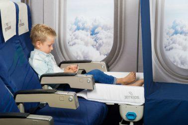 Das Kinderkofferbett für's Flugzeug von JetKids