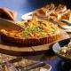 Mmmmh, leckere Quiches und Kuchen im Cafe Deli