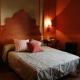 Auch dieses Schlafzimmer ist ein italienischer Traum.