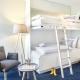 Stockbett in den Zimmern und Suiten