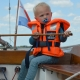 Was wäre Holland ohne eine Segeltour. Auch die Kleinsten können schon mitkommen.