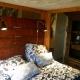 Die Titanic ist das größte Safarizelt. 7 Personen können hier Urlaub machen.
