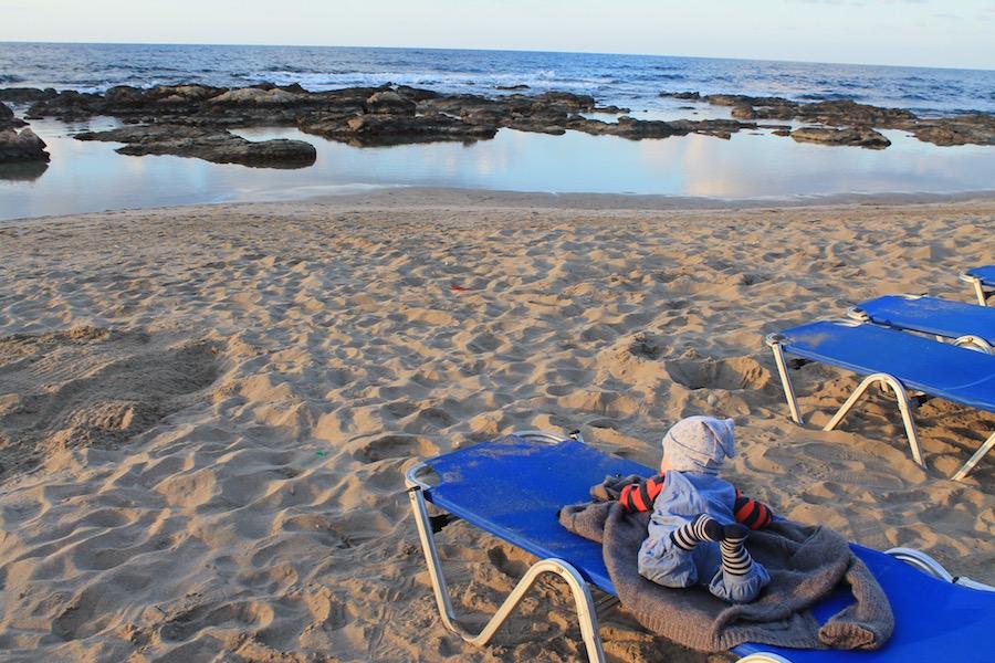 Familienurlaub mit Baby auf Kreta