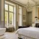 Das elegante Schlafzimmer von Le Grand Salon.