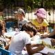 Les Carrasesses - die Kinder malen und basteln im Kids Club