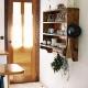 So schön blinzelt die griechische Sonne morgens durch die Ferienhaus-Tür