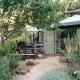 In Marilyns Coffee Shop könnt Ihr frühstücken und leckere Bio-Produkte aus dem Garten kaufen