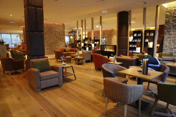 Die große, elegante Lobby