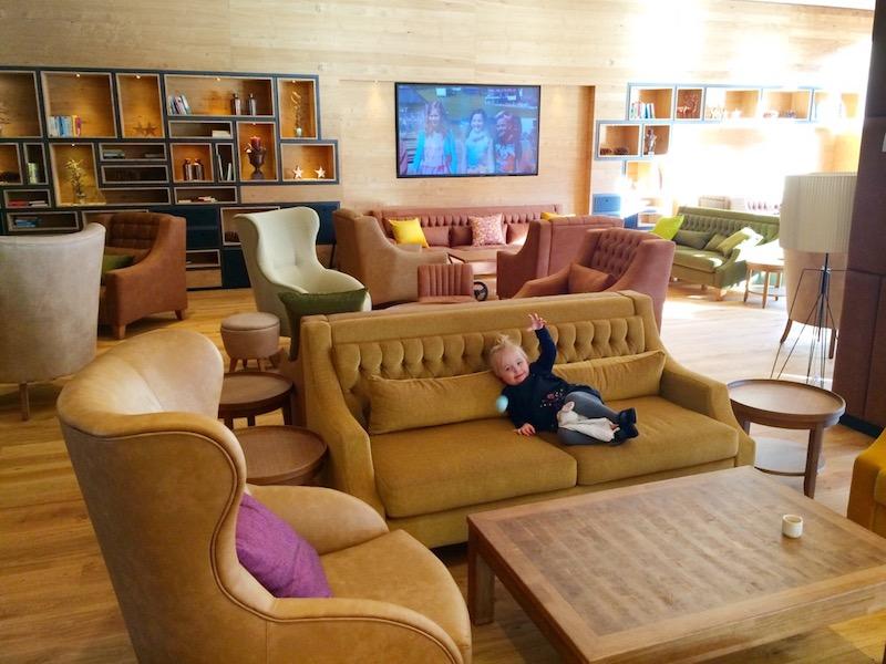 Die Lobby im Wohnzimmer-Stil