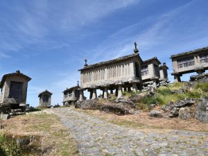 Die Steinhäuser in Lindoso