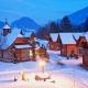 ... und so sieht das Feriendorf Landgut Moseralm im Winter aus