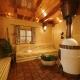 Und die Sauna. Hier schwitzt es sich famos