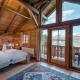 Ein Schlafzimmer mit Ausblick