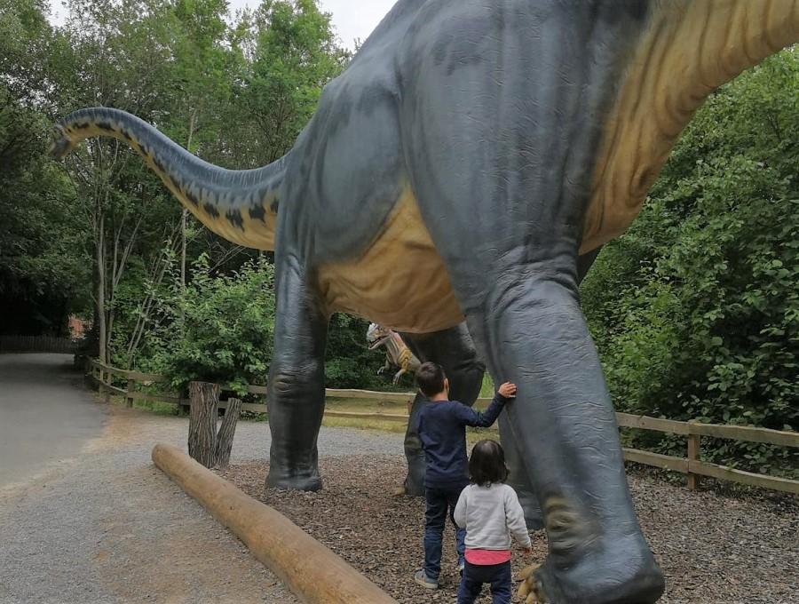 Große Dino-Liebe im Dinosaurierpark Münchhagen