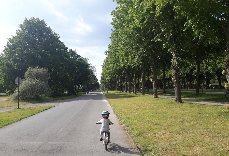 Eine Radtour durch die Herrenhäuser Gärten - Geht sogar schon mit 3-Jährigen