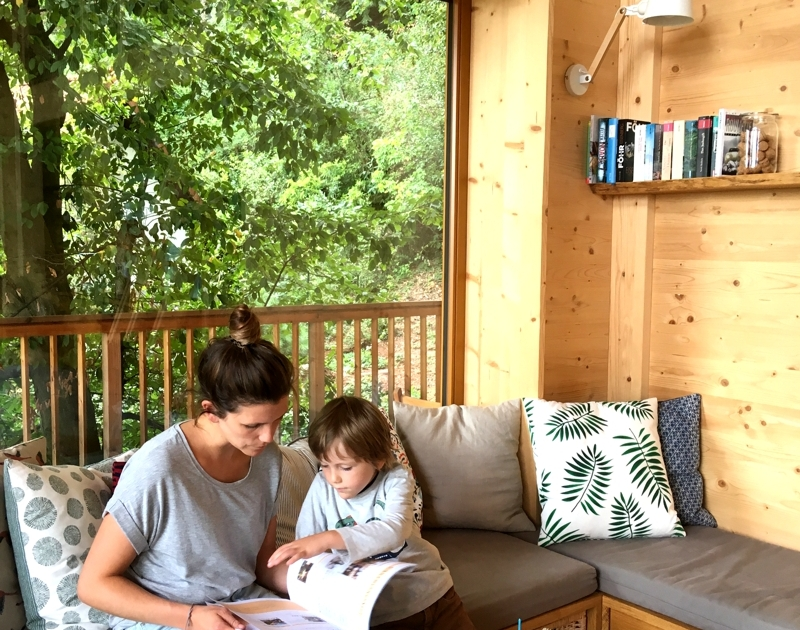 So macht ein Pfalzurlaub mit Kindern Spaß! Allein das Interior!