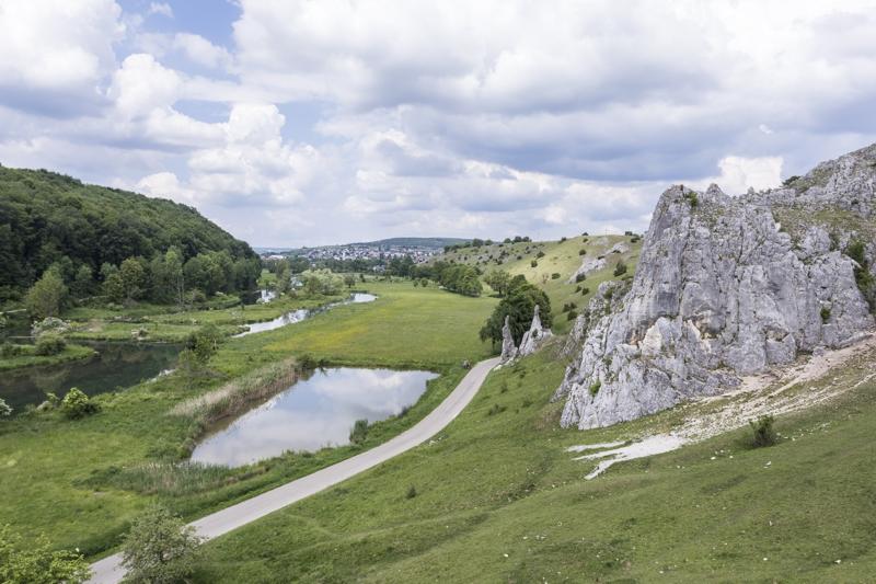 Abenteuerliche Felslandschaft auf der Ostalb - Schwäbische Alb mit Kindern